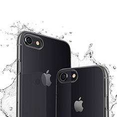 Ultra-thin Transparent TPU Soft Case for Apple iPhone SE (2020) Black