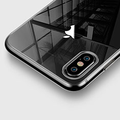 Ultra-thin Transparent TPU Soft Case for Apple iPhone Xs Gray