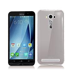 Ultra-thin Transparent TPU Soft Case for Asus Zenfone 2 Laser ZE500KL ZE550KL Gray
