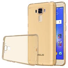 Ultra-thin Transparent TPU Soft Case for Asus Zenfone 3 Laser Gold