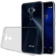 Ultra-thin Transparent TPU Soft Case for Asus Zenfone 3 ZE552KL Gray