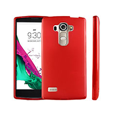 Ultra-thin Transparent TPU Soft Case for LG G4 Beat Red