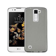 Ultra-thin Transparent TPU Soft Case for LG Stylus 2 Plus Gray