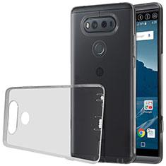 Ultra-thin Transparent TPU Soft Case for LG V20 Gray