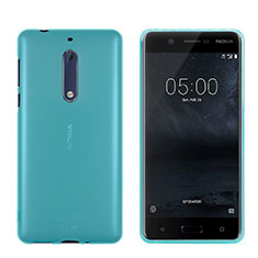Ultra-thin Transparent TPU Soft Case for Nokia 5 Blue