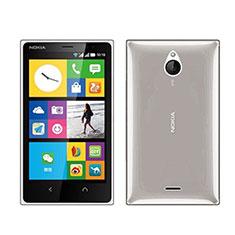 Ultra-thin Transparent TPU Soft Case for Nokia X2 Dual Sim Gray