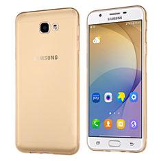 Ultra-thin Transparent TPU Soft Case for Samsung Galaxy J5 Prime G570F Gold