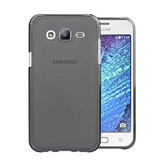 Ultra-thin Transparent TPU Soft Case for Samsung Galaxy J5 SM-J500F Gray