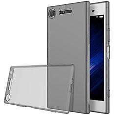Ultra-thin Transparent TPU Soft Case for Sony Xperia XZ1 Gray