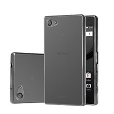Ultra-thin Transparent TPU Soft Case for Sony Xperia Z5 Compact Gray
