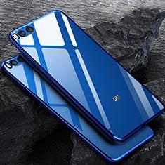 Ultra-thin Transparent TPU Soft Case for Xiaomi Mi Note 3 Blue