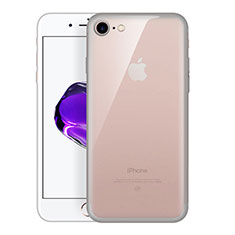 Ultra-thin Transparent TPU Soft Case H01 for Apple iPhone SE (2020) Gray