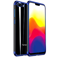 Ultra-thin Transparent TPU Soft Case H01 for Huawei Honor 10 Blue
