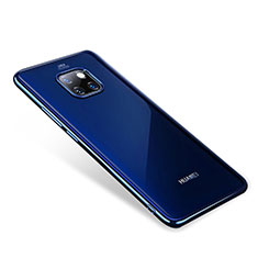 Ultra-thin Transparent TPU Soft Case H01 for Huawei Mate 20 Pro Blue