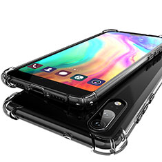 Ultra-thin Transparent TPU Soft Case H01 for Huawei P20 Gray