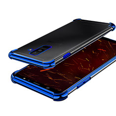 Ultra-thin Transparent TPU Soft Case H01 for Samsung Galaxy A9 Star Lite Blue