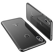Ultra-thin Transparent TPU Soft Case H01 for Xiaomi Mi 8 Black
