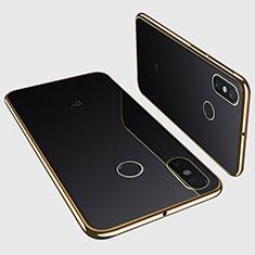 Ultra-thin Transparent TPU Soft Case H01 for Xiaomi Mi Max 3 Gold