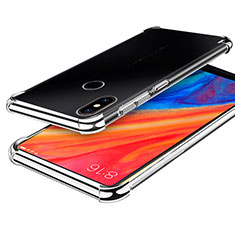Ultra-thin Transparent TPU Soft Case H01 for Xiaomi Mi Mix 2S Silver