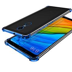 Ultra-thin Transparent TPU Soft Case H01 for Xiaomi Redmi Note 5 Indian Version Blue