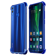 Ultra-thin Transparent TPU Soft Case H02 for Huawei Honor 8X Blue