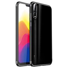 Ultra-thin Transparent TPU Soft Case H02 for Huawei P20 Pro Black