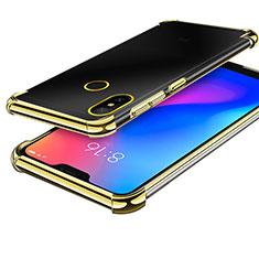 Ultra-thin Transparent TPU Soft Case H02 for Xiaomi Redmi 6 Pro Gold