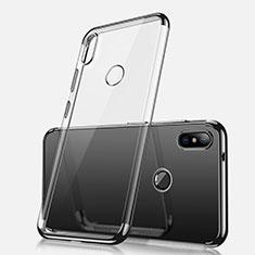 Ultra-thin Transparent TPU Soft Case H02 for Xiaomi Redmi Note 5 AI Dual Camera Black
