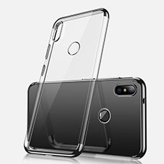 Ultra-thin Transparent TPU Soft Case H02 for Xiaomi Redmi Note 5 Black