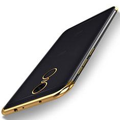 Ultra-thin Transparent TPU Soft Case H02 for Xiaomi Redmi Note 5 Indian Version Gold