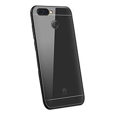 Ultra-thin Transparent TPU Soft Case H03 for Huawei Enjoy 7S Black