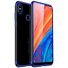 Ultra-thin Transparent TPU Soft Case H03 for Xiaomi Mi Mix 2S Blue