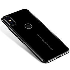 Ultra-thin Transparent TPU Soft Case H04 for Xiaomi Mi Mix 2S Black