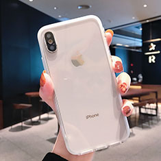 Ultra-thin Transparent TPU Soft Case K01 for Apple iPhone X Clear