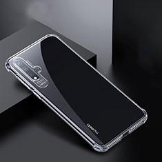 Ultra-thin Transparent TPU Soft Case K01 for Huawei Nova 5 Clear
