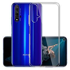 Ultra-thin Transparent TPU Soft Case K01 for Huawei Nova 5T Clear