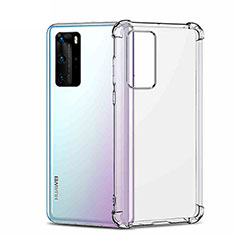 Ultra-thin Transparent TPU Soft Case K01 for Huawei P40 Pro Clear