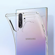 Ultra-thin Transparent TPU Soft Case K01 for Samsung Galaxy Note 10 Plus 5G Clear