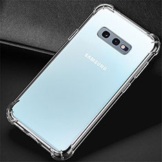 Ultra-thin Transparent TPU Soft Case K01 for Samsung Galaxy S10e Clear