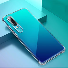 Ultra-thin Transparent TPU Soft Case K02 for Huawei P30 Clear