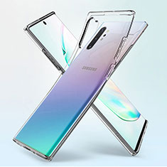 Ultra-thin Transparent TPU Soft Case K02 for Samsung Galaxy Note 10 Plus 5G Clear
