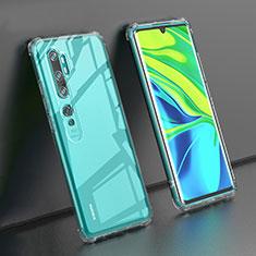 Ultra-thin Transparent TPU Soft Case K02 for Xiaomi Mi Note 10 Clear