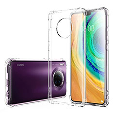 Ultra-thin Transparent TPU Soft Case K03 for Huawei Mate 30 Clear