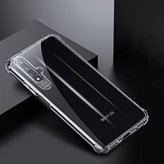 Ultra-thin Transparent TPU Soft Case K03 for Huawei Nova 5T Clear