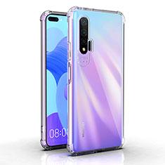 Ultra-thin Transparent TPU Soft Case K03 for Huawei Nova 6 5G Clear
