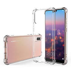 Ultra-thin Transparent TPU Soft Case K03 for Huawei P20 Clear