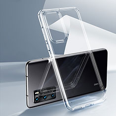 Ultra-thin Transparent TPU Soft Case K03 for Huawei P40 Clear
