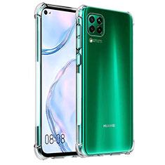 Ultra-thin Transparent TPU Soft Case K03 for Huawei P40 Lite Clear