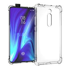 Ultra-thin Transparent TPU Soft Case K05 for Xiaomi Mi 9T Pro Clear