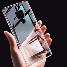 Ultra-thin Transparent TPU Soft Case K06 for Huawei Mate 20 Clear